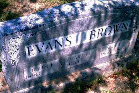 BROWN, SALLY - Pulaski County, Arkansas | SALLY BROWN - Arkansas Gravestone Photos