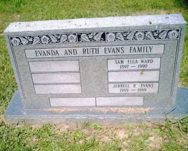 EVANS, SAM ELLA - Pulaski County, Arkansas | SAM ELLA EVANS - Arkansas Gravestone Photos