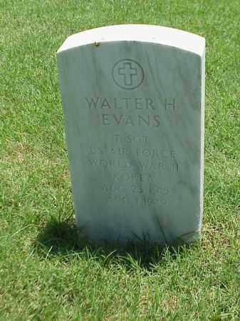 EVANS (VETERAN 2 WARS), WALTER H - Pulaski County, Arkansas | WALTER H EVANS (VETERAN 2 WARS) - Arkansas Gravestone Photos