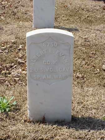 EVANS (VETERAN SAW), ALBERT L - Pulaski County, Arkansas | ALBERT L EVANS (VETERAN SAW) - Arkansas Gravestone Photos