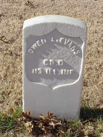 EVANS (VETERAN UNION), OWEN L - Pulaski County, Arkansas | OWEN L EVANS (VETERAN UNION) - Arkansas Gravestone Photos