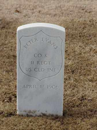 EVANS (VETERAN UNION), PETER - Pulaski County, Arkansas | PETER EVANS (VETERAN UNION) - Arkansas Gravestone Photos