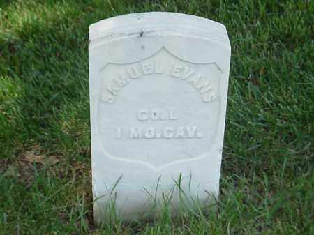 EVANS (VETERAN UNION), SAMUEL A - Pulaski County, Arkansas | SAMUEL A EVANS (VETERAN UNION) - Arkansas Gravestone Photos
