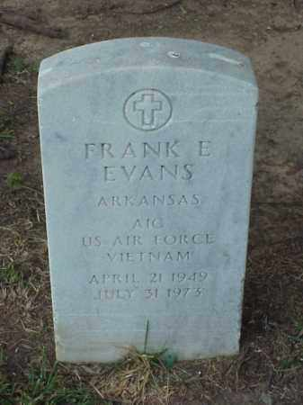 EVANS (VETERAN VIET), FRANK E - Pulaski County, Arkansas | FRANK E EVANS (VETERAN VIET) - Arkansas Gravestone Photos
