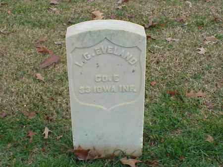 EVELAND (VETERAN UNION), L G - Pulaski County, Arkansas | L G EVELAND (VETERAN UNION) - Arkansas Gravestone Photos