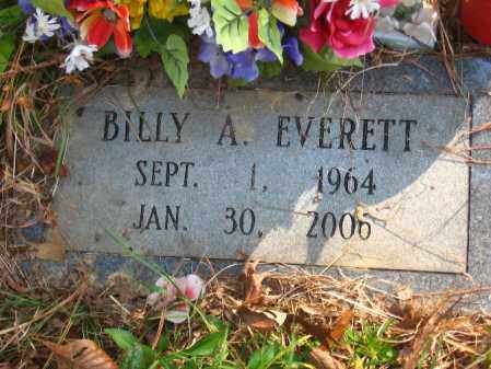 EVERETT, BILLY A. - Pulaski County, Arkansas | BILLY A. EVERETT - Arkansas Gravestone Photos