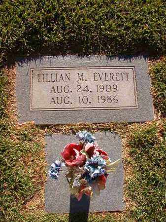EVERETT, LILLIAN M - Pulaski County, Arkansas | LILLIAN M EVERETT - Arkansas Gravestone Photos