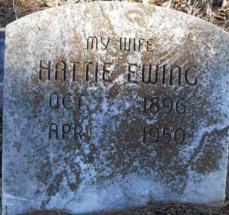 EWING, HATTIE - Pulaski County, Arkansas | HATTIE EWING - Arkansas Gravestone Photos