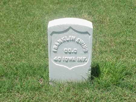 EWING (VETERAN UNION), FRANKLIN - Pulaski County, Arkansas | FRANKLIN EWING (VETERAN UNION) - Arkansas Gravestone Photos