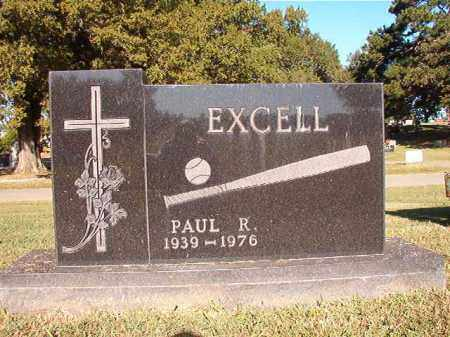 EXCELL, PAUL R - Pulaski County, Arkansas | PAUL R EXCELL - Arkansas Gravestone Photos