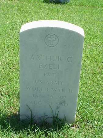 EZELL (VETERAN WWII), ARTHUR C - Pulaski County, Arkansas | ARTHUR C EZELL (VETERAN WWII) - Arkansas Gravestone Photos