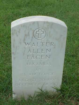 FACEN (VETERAN), WALTER ALLEN - Pulaski County, Arkansas | WALTER ALLEN FACEN (VETERAN) - Arkansas Gravestone Photos