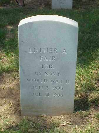 FAIR (VETERAN WWII), LUTHER A - Pulaski County, Arkansas | LUTHER A FAIR (VETERAN WWII) - Arkansas Gravestone Photos