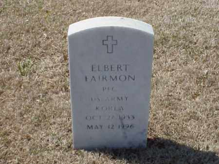 FAIRMON (VETERAN KOR), ELBERT - Pulaski County, Arkansas | ELBERT FAIRMON (VETERAN KOR) - Arkansas Gravestone Photos