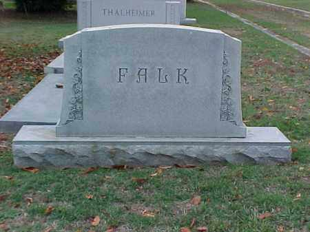 FALK FAMILY STONE, . - Pulaski County, Arkansas | . FALK FAMILY STONE - Arkansas Gravestone Photos