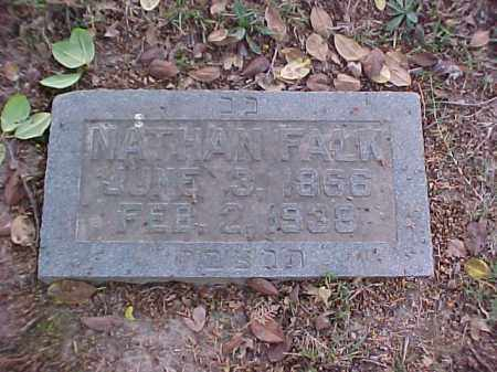 FALK, NATHAN - Pulaski County, Arkansas | NATHAN FALK - Arkansas Gravestone Photos
