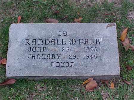 FALK, RANDALL M - Pulaski County, Arkansas | RANDALL M FALK - Arkansas Gravestone Photos
