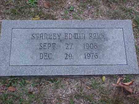 EDWIN FALK, STANLEY - Pulaski County, Arkansas | STANLEY EDWIN FALK - Arkansas Gravestone Photos