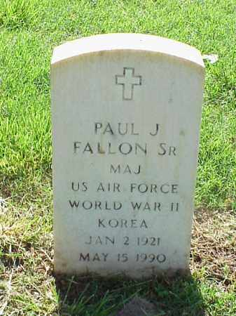 FALLON, SR (VETERAN 2 WARS), PAUL J - Pulaski County, Arkansas | PAUL J FALLON, SR (VETERAN 2 WARS) - Arkansas Gravestone Photos