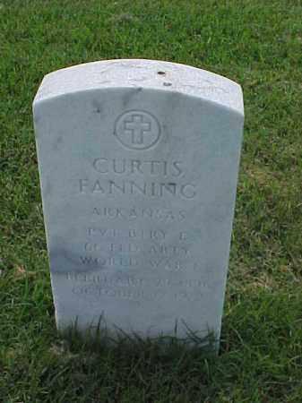 FANNING (VETERAN WWI), CURTIS - Pulaski County, Arkansas | CURTIS FANNING (VETERAN WWI) - Arkansas Gravestone Photos