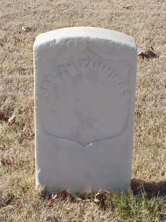 FANNINGS (VETERAN UNION), JOSEPH - Pulaski County, Arkansas | JOSEPH FANNINGS (VETERAN UNION) - Arkansas Gravestone Photos