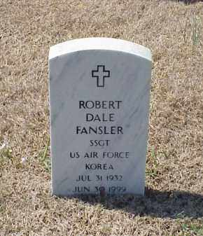 FANSLER (VETERAN KOR), ROBERT DALE - Pulaski County, Arkansas | ROBERT DALE FANSLER (VETERAN KOR) - Arkansas Gravestone Photos