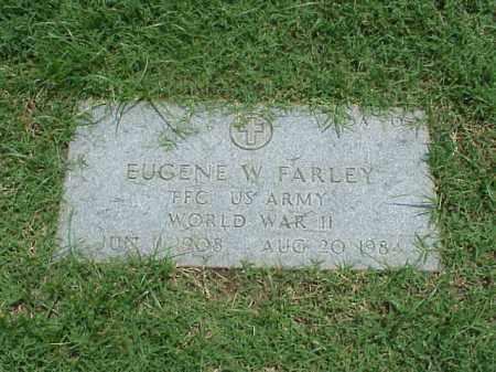 FARLEY (VETERAN WWII), EUGENE W - Pulaski County, Arkansas | EUGENE W FARLEY (VETERAN WWII) - Arkansas Gravestone Photos