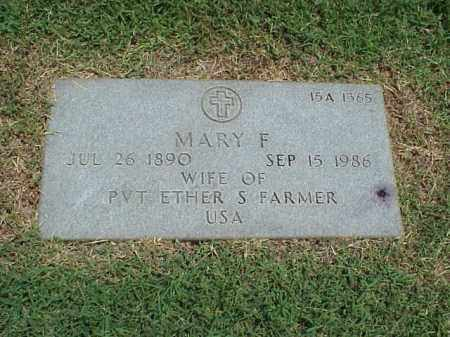 FARMER, MARY F - Pulaski County, Arkansas | MARY F FARMER - Arkansas Gravestone Photos