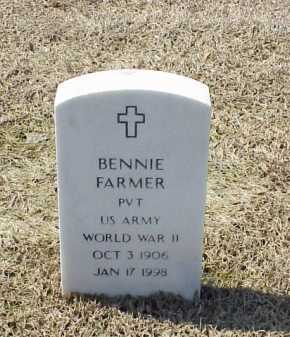 FARMER (VETERAN WWII), BENNIE - Pulaski County, Arkansas | BENNIE FARMER (VETERAN WWII) - Arkansas Gravestone Photos
