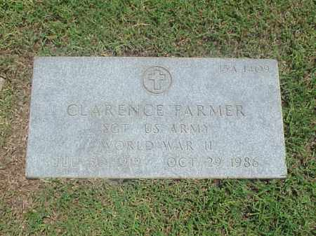 FARMER (VETERAN WWII), CLARENCE - Pulaski County, Arkansas | CLARENCE FARMER (VETERAN WWII) - Arkansas Gravestone Photos