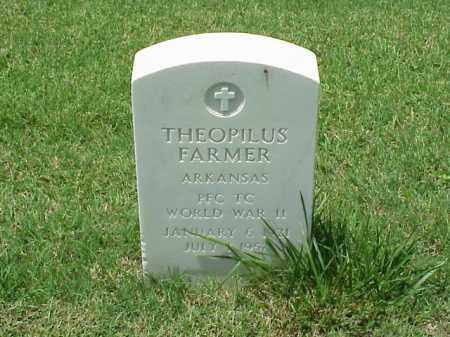 FARMER (VETERAN WWII), THEOPILUS - Pulaski County, Arkansas | THEOPILUS FARMER (VETERAN WWII) - Arkansas Gravestone Photos