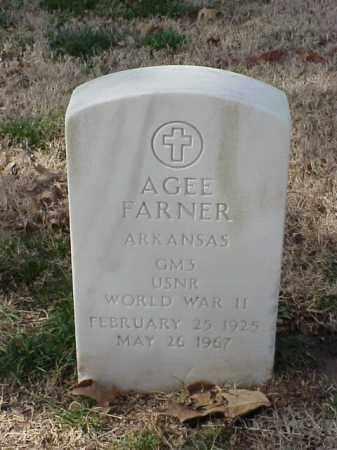FARNER (VETERAN WWII), AGEE - Pulaski County, Arkansas | AGEE FARNER (VETERAN WWII) - Arkansas Gravestone Photos