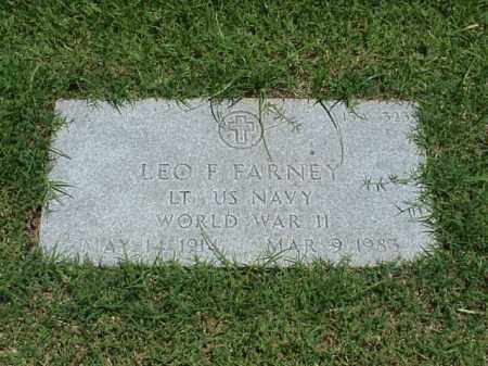 FARNEY (VETERAN WWII), LEO F - Pulaski County, Arkansas | LEO F FARNEY (VETERAN WWII) - Arkansas Gravestone Photos