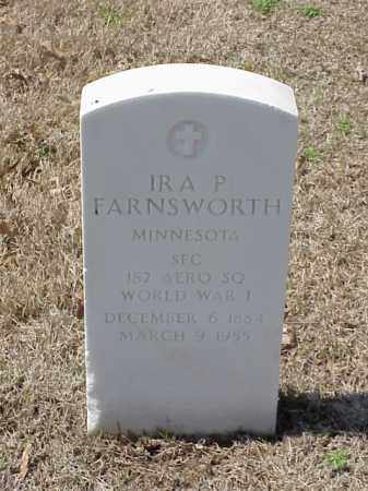 FARNSWORTH  (VETERAN WWI), IRA P - Pulaski County, Arkansas | IRA P FARNSWORTH  (VETERAN WWI) - Arkansas Gravestone Photos