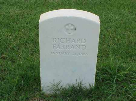 FARRAND, RICHARD - Pulaski County, Arkansas | RICHARD FARRAND - Arkansas Gravestone Photos