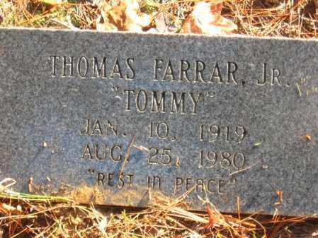 FARRAR, THOMAS JR. - Pulaski County, Arkansas | THOMAS JR. FARRAR - Arkansas Gravestone Photos