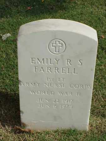 FARRELL (VETERAN WWII), EMILY R S - Pulaski County, Arkansas | EMILY R S FARRELL (VETERAN WWII) - Arkansas Gravestone Photos