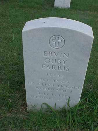 FARRIS (VETERAN WWI), ERVIN OUBY - Pulaski County, Arkansas | ERVIN OUBY FARRIS (VETERAN WWI) - Arkansas Gravestone Photos