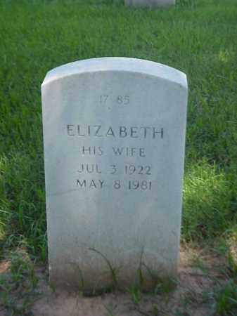 FARRISH, ELIZABETH - Pulaski County, Arkansas | ELIZABETH FARRISH - Arkansas Gravestone Photos
