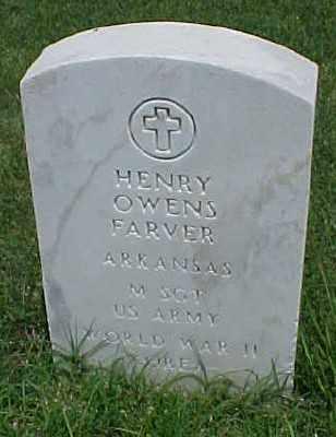 FARVER (VETERAN 2 WARS), HENRY OWENS - Pulaski County, Arkansas | HENRY OWENS FARVER (VETERAN 2 WARS) - Arkansas Gravestone Photos