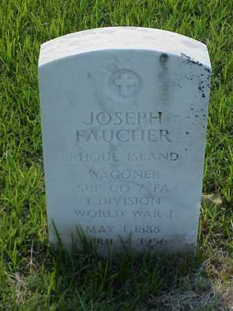 FAUCHER (VETERAN WWI), JOSEPH - Pulaski County, Arkansas | JOSEPH FAUCHER (VETERAN WWI) - Arkansas Gravestone Photos