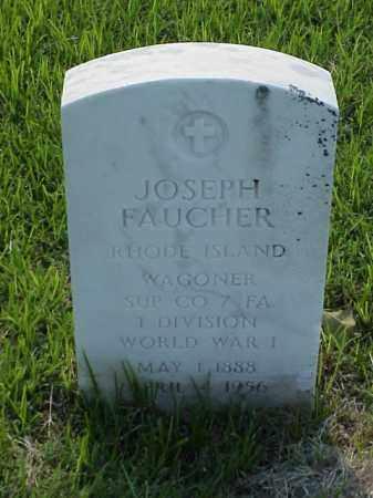 FAUCHER (VETERAN WWI), JOSEPH - Pulaski County, Arkansas | JOSEPH FAUCHER (VETERAN WWI) - Arkansas Gravestone Photos