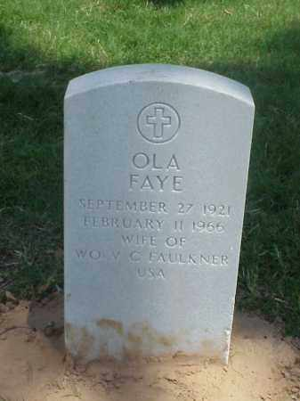 FAULKNER, OLA FAYE - Pulaski County, Arkansas | OLA FAYE FAULKNER - Arkansas Gravestone Photos
