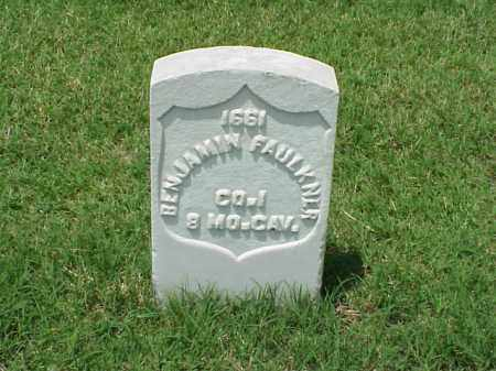 FAULKNER (VETERAN UNION), BENJAMIN - Pulaski County, Arkansas | BENJAMIN FAULKNER (VETERAN UNION) - Arkansas Gravestone Photos