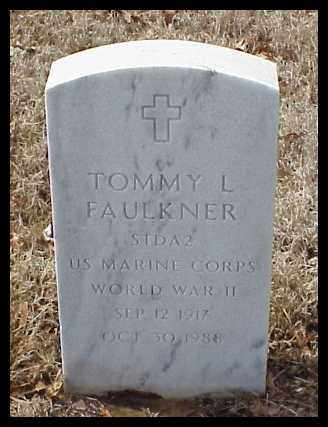 FAULKNER (VETERAN WWII), TOMMY L - Pulaski County, Arkansas | TOMMY L FAULKNER (VETERAN WWII) - Arkansas Gravestone Photos