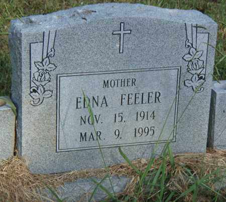 FEELER, EDNA - Pulaski County, Arkansas | EDNA FEELER - Arkansas Gravestone Photos