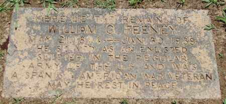 FEENEY (VETERAN SAW), WILLIAM C - Pulaski County, Arkansas | WILLIAM C FEENEY (VETERAN SAW) - Arkansas Gravestone Photos