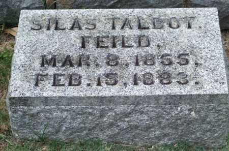 FEILD, SILAS TALBOT - Pulaski County, Arkansas | SILAS TALBOT FEILD - Arkansas Gravestone Photos