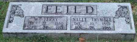 TRIMBLE FEILD, NELLE - Pulaski County, Arkansas | NELLE TRIMBLE FEILD - Arkansas Gravestone Photos