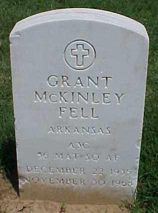 FELL (VETERAN KOR), GRANT MCKINLEY - Pulaski County, Arkansas | GRANT MCKINLEY FELL (VETERAN KOR) - Arkansas Gravestone Photos